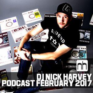DJ Nick Harvey - Podcast February 2017