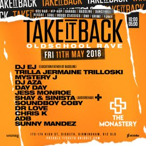 @DJMYSTERYJ   Old School Dancehall Mix   #TakeItBack Fri 11th May