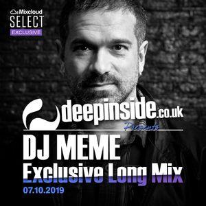 DJ MEME is on DEEPINSIDE * Exclusive Long Mix *