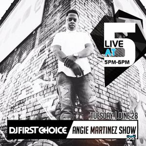 Live At 5 on Power 105.1 w/ Angie Martinez June 28, 2016
