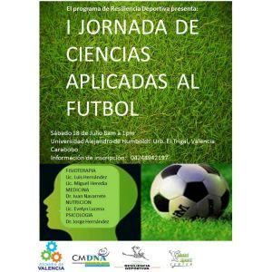 14-07-15 - Detalles de la I #JornadasDeCienciasAplicadasAlFútbol en #LaMañana979