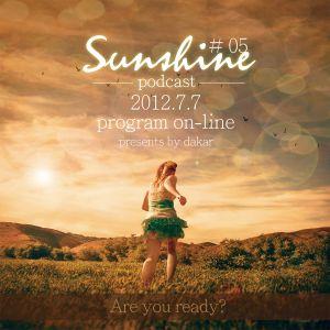 2012.7.7  Sunsihine Podcast # 05 presents by Dakar