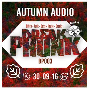 Break Phunk #3 : 'Autumn Audio' 30-09-2016. Mixed by Blatant-Lee Sly