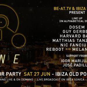 Reboot b2b Melanie Ribbe live @ Free Open Air Party ONE (Ibiza) – 27.06.2015
