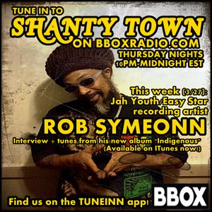 Shanty Town: Interview with Rob Symeonn