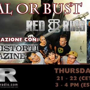 Metal Or Bust - Intervista Grave Digger e Red Ring