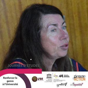 """Nicole OLLIER, """"L'atelier genre à l'Université Bordeaux Montaigne"""""""