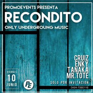 RECONDITO ALL NIGHT 100616 [CRUIZ SET / ENKY SET / TANAKA SET]