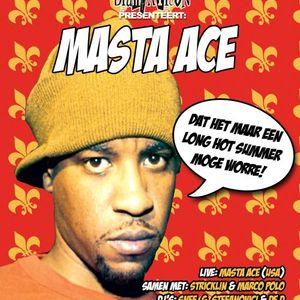 De D - Masta Ace Huiswerk Mixtape (90´s)
