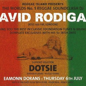 David Rodigan Live Stock 6th July 2000