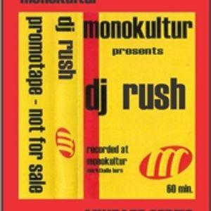 DJ RUSH - Live @ Markthalle(monokultur) [1999]