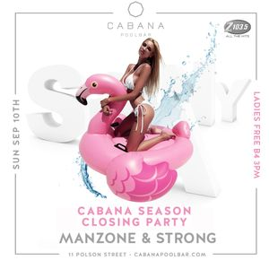 Manzone & Strong - Cabana Z103.5 Live To Air (Sept 10.2017)