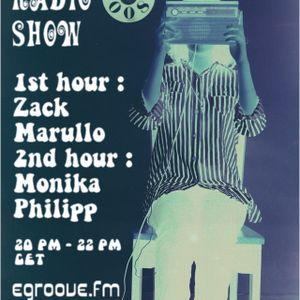 Egroove.fm Indigo Radio Show vol 008 Guest Mix Zack Marullo 2011_07_02