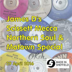 James D's Scissett Mecca Northern Soul & Motown Special 29 April 2016