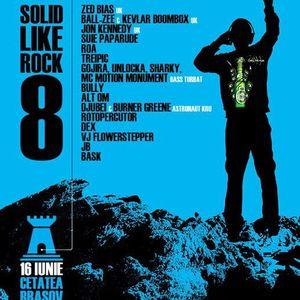 Solid like Rock - live mix