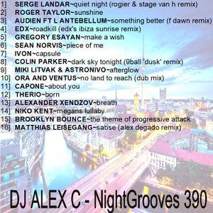 DJ ALEX C - Nightgrooves 390 progressive 2017