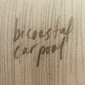 Bicoastal Carpool, Season 4, Episode #49 - 11/7/2019, Guest Cohost - Sarah G. Sharp