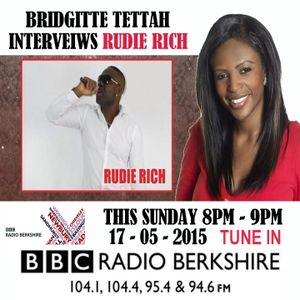 RUDIE RICH LIVE INTERVEIW ON BBC RADIO BERKSHIRE ( 17 - 05 - 2015 )