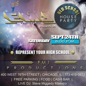 A Night @ EMJ Productions Red Light Old School Chicago House Party - 24 Sep 2016