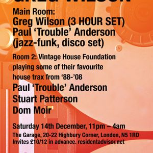 Paul 'Trouble' Anderson Vintage House Mix