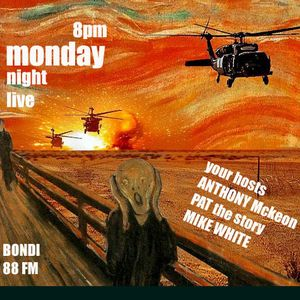 25/10/10, 3 little pigs + rdlc, monday night live, bondifm
