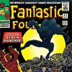 51 - Fantastic Four #52 - The First Appearance of Black Panther