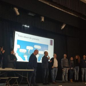 Presentació de l'equip directiu i el projecte del nou institut de Sarrià de Ter (13/03/2019)