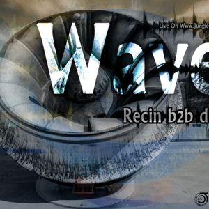 Recin b2b diGreez - Waves live on jungletrain.net 2012 07 17