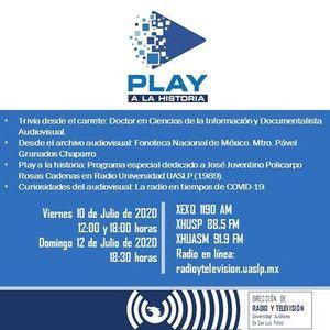 Programa 40. Play a la historia: Fonoteca Nacional de México 10/07/2020