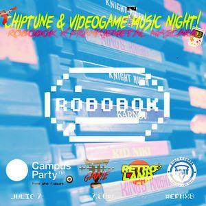 Robobok Live @ Retroland // Campus Party 2017 #CPMX8 - Julio 7