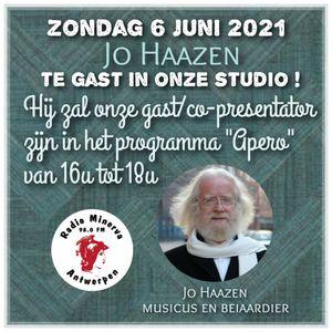 Radio Minerva - Apero Special met Cis Van de Bist en co-presentator beiaardier Jo Haazen