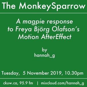 A Magpie Response to Freya Björg Olafson's Motion AfterEffect