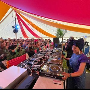 Andrea Trout - Love Dancin' Tent at We Out Here Festival 2021