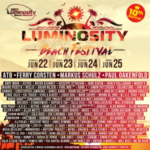 James Dymond - Live @ Luminosity Beach Festival - 23. Jun 2017