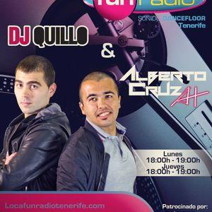 Alberto Cruz A+ & Dj Quillo @ Loca Fun Radio Tenerife Podcast (BASS#1) (8-10-2012)