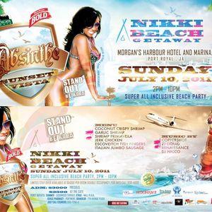 Dj Pepsi - ABSINTHE Sunset Vista Nikki Beach Getaway PROMO Mix  2011