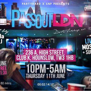#PassOutLDN 11th June Hip Hop Mix - By @DJ_Bempah