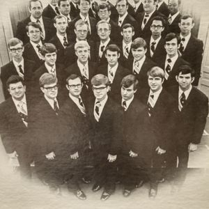 Singing Men of Temple ~ Tennessee Temple Schools in Chattanooga, Tennessee (1975)