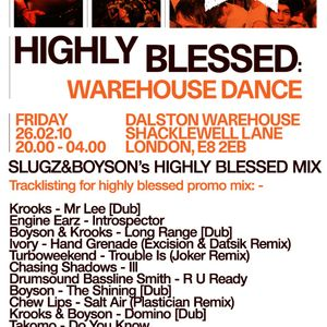 Slugz & Boyson Highly Blessed Promo Mix