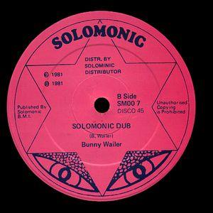 "Bunny Wailer ""Solomonic Version"" 12"" (Solomonic) 1981"