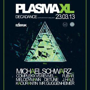 Michael Schwarz LIVE @ DECADANCE Ghent (BE) 23.3.2013