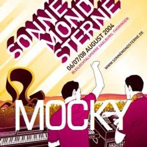 Mocky (Live PA) @ SonneMondSterne 04 - Bleilochtalsperre Saalburg - 07.07.2004