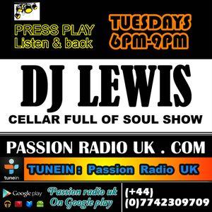 DJ LEWIS the soul veteran |08-03-16 | Cellar full of soul show | Tuesday 6pm