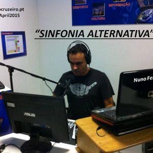 SINFONIA ALTERNATIVA  12APRIL15  - 7EDITION - radiocruzeiro.pt