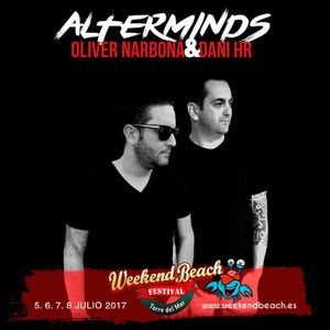 Session Weekend Beach Festival - Oliver Narbona & Dani HR (Alterminds)
