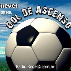 Gol de Ascenso. Programa del jueves 24/3 en Radio iRed HD.