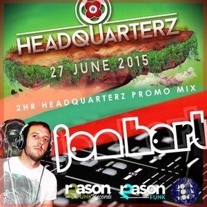 HeadQuarterz DownTownHouse 2hr Promo Mix - Jon Hart (Reason2funk)