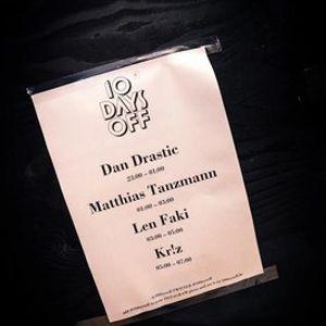 Dan Drastic @ 10 Days Off, Gent - 15.07.2012