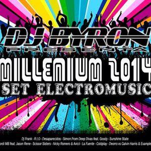 Dj Byron - Millenium 2014 (Set Electromusic Megamix)