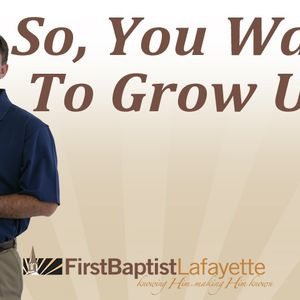 SO, YOU WANT TO GROW UP - Never Believe the Lies of Satan (Audio)